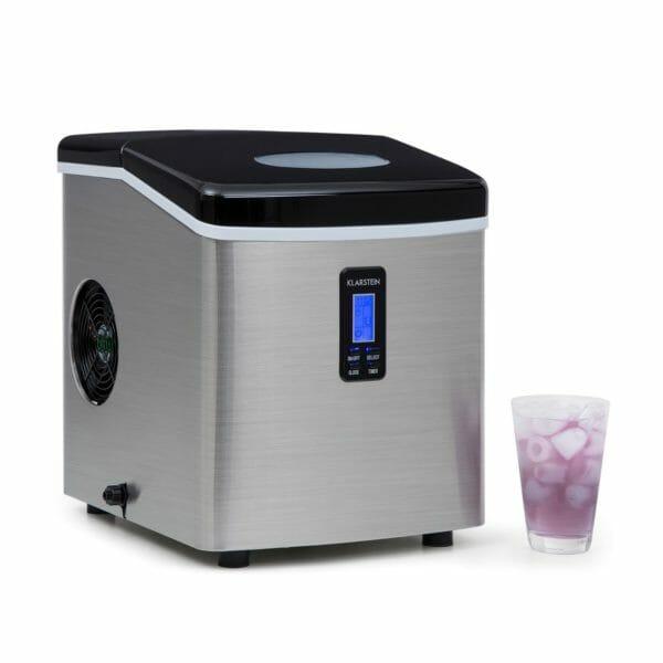 Klarstein Mr. Black-Frost - Macchina del ghiaccio, 15 kg / 24 h, 150 Watt