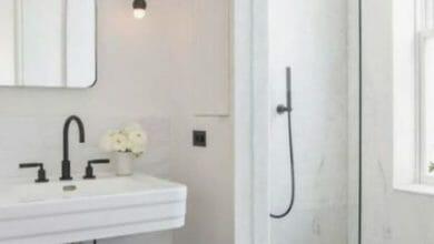 Photo of Bagno bianco e nero, suggerimenti e idee di arredo