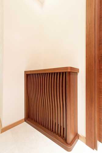 Integrato con rivestimento in legno