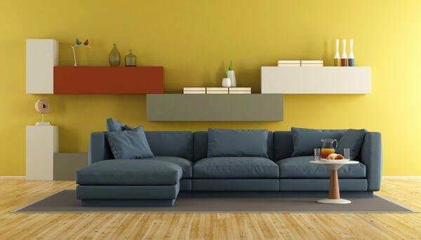 Pareti Soggiorno Giallo Ocra.Colori Caldi Per Arredare La Vostra Casa E Portare Vitalita