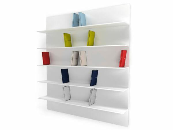 libreria flessibile e moderna