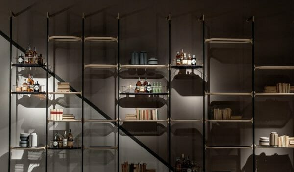 Libreria a parete Libelle