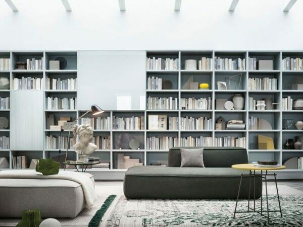 Libreria a parete Selecta