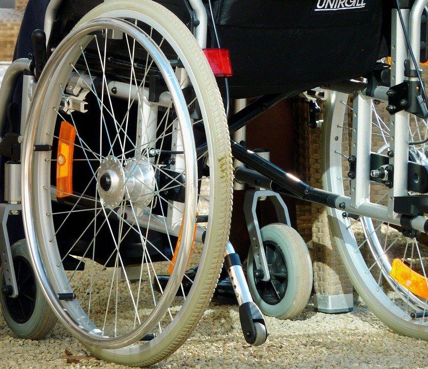Spazi per disabilità